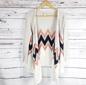 American rag open front cardigan size 0X